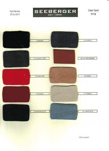 Palarie din fetru de lana Fedora - Seeberger