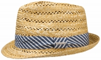 Palarie din paie Trillby Wheat - Stetson