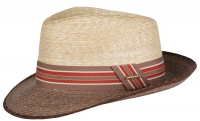 Palarie din paie Bexley Wheat - Stetson