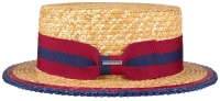 Palarie din paie Boater Wheat - Stetson