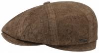 Sapca din piele cu protectie urechi Hatteras - Stetson