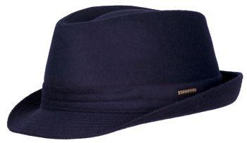 Palarie din lana si poliamida Trilby Wool - Stetson