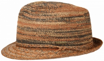Palarie din paie Trillby Raffia Crochet - Stetson