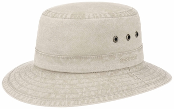 Palarie din bumbac organic Bucket Delave - Stetson