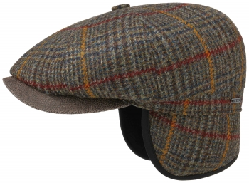 Sapca din lana cu protectie pentru urechi Hatteras EF Wool - Stetson