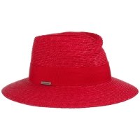Palarie din paie Fedora - Seeberger