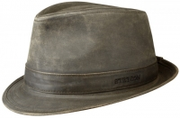 Palarie din bumbac si poliester Trilby - Stetson