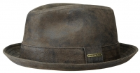 Palarie din piele Player - Stetson