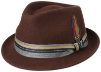 Palarie din fetru de lana Trilby Woolfelt - Stetson