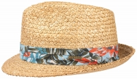 Palarie din paie Trilby Vintage Wheat - Stetson