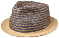 Palarie din paie si poliester Trilby - Stetson