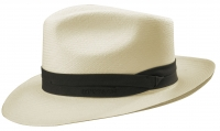 Palarie din paie Fedora Panama bleached 5 - Stetson