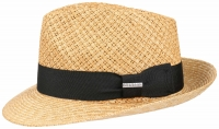 Palarie din paie Fedora Wheat - Stetson