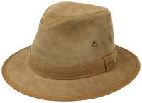Palarie din piele Traveller Calf Leather - Stetson