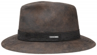 Palarie din piele Traveller - Stetson