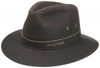 Palarie din bumbac cerat Traveller Waxed - Stetson