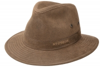 Palarie din bumbac si poliester Traveller - Stetson