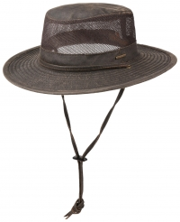 Palarie din bumbac si poliester Outdoor Air - Stetson