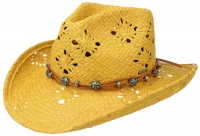 Palarie din paie Western Raffia - Stetson