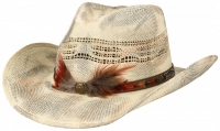 Palarie din paie Western Toyo - Stetson