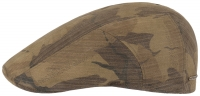Sapca din bumbac cerat Ivy Cap Waxed Cotton Camouflage - Stetson