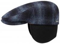 Sapca din lana cu protectie pt. urechi Kent EF Wool Check - Stetson