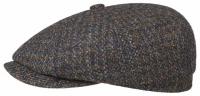 Sapca din lana Hatteras Harris Tweed - Stetson