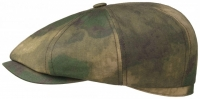 Sapca din bumbac Hatteras Camouflage - Stetson