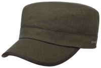 Sapca din bumbac Army Cap Herringbone - Stetson