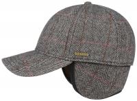 Sapca din lana si poliamida cu protectie pentru urechi Baseball Cap - Stetson