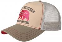 Sapca din bumbac Trucker Bear - Stetson