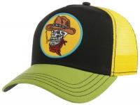 Sapca din bumbac Trucker Cap Skull Cowboy - Stetson