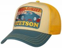 Sapca din bumbac Trucker Sunset - Stetson