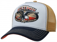Sapca din bumbac Trucker Cap Free Spirit - Stetson