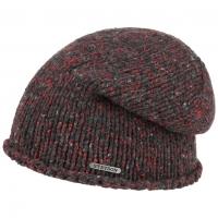 Caciula tricotata din lana si bumbac - Stetson