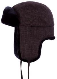 Caciula din lana cu blana sintetica Chaska - Stetson