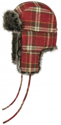 Caciula din lana cu blana sintetica Bomber - Stetson