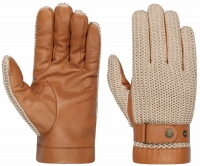 Manusi din piele Gloves Sheep Nappa & Knit - Stetson