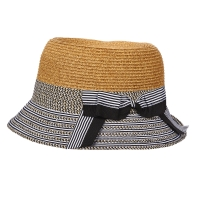 Palarie din paie Nautical Cloche - Scala