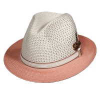 Palarie din poliester Fedora - Stacy Adams